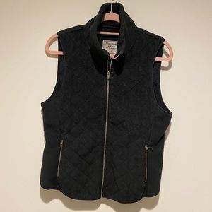 abercrombie and fitch vest size large